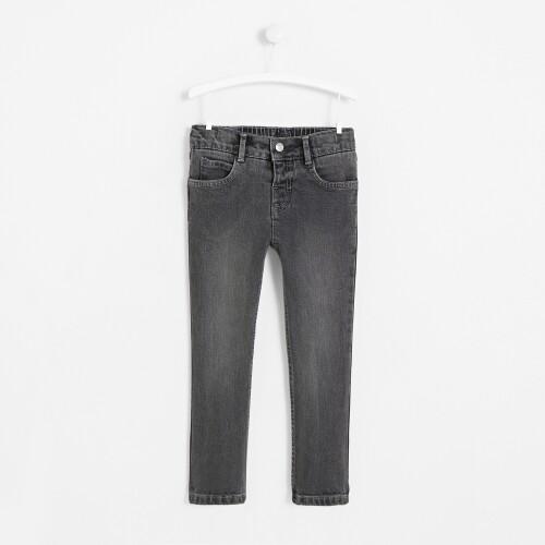 Boy gray denim pants