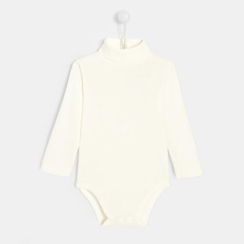 Toddler boy turtleneck bodysuit