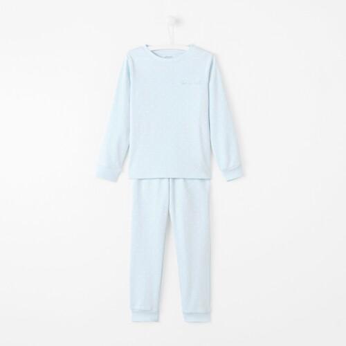 Boy crown-print pajamas