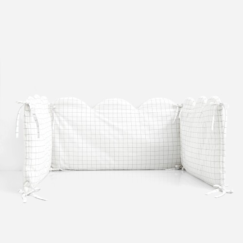 Double-sided crib bumper