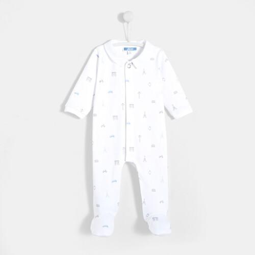 Pijamale cu picior bebelusi baieti