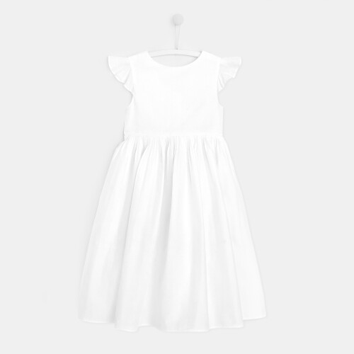 Rochie lunga cu  maneci vaporoase fete