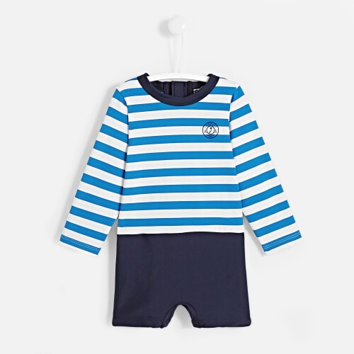 Toddler boy UV protection swim set