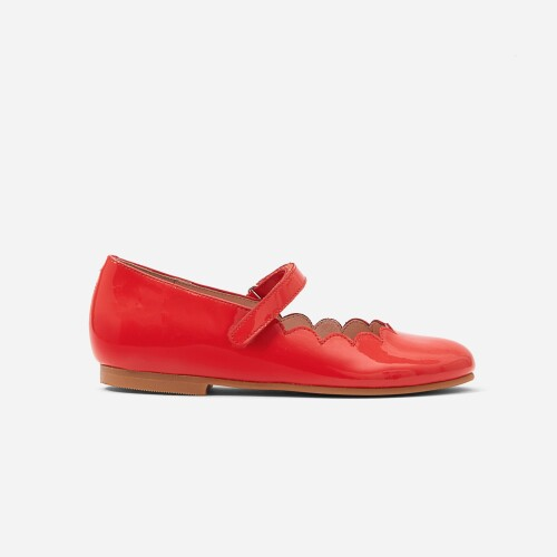 Pantofi de fete Mary Jane din piele lacuita