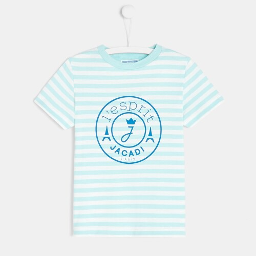 Boy striped t-shirt