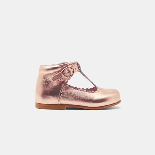 Pantofi din piele pentru fetite