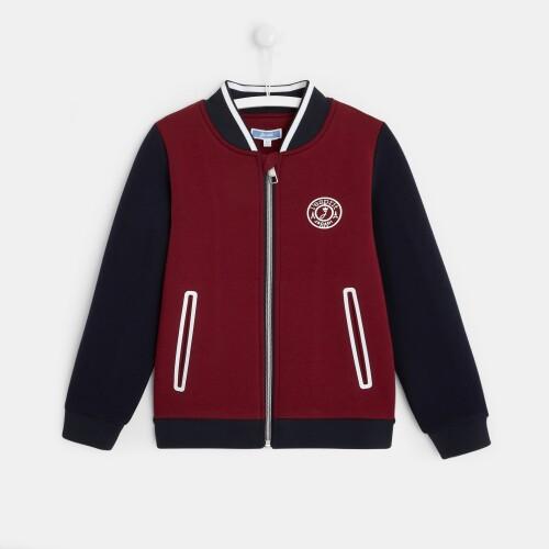 Boy Varsity-style jacket