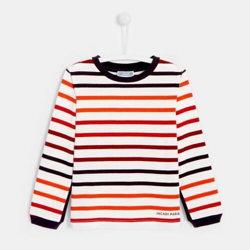 Boy sailor-stripe shirt