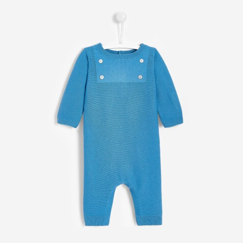 Baby boy knit onesie