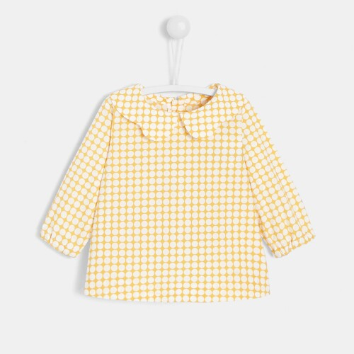 Baby girl checked blouse