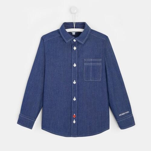 Boy utility shirt