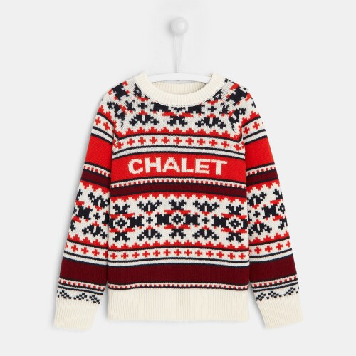 Boy jacquard sweater