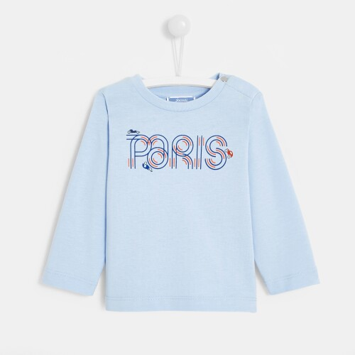 Toddler boy long-sleeved T-shirt