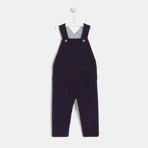 Toddler boy corduroy overalls