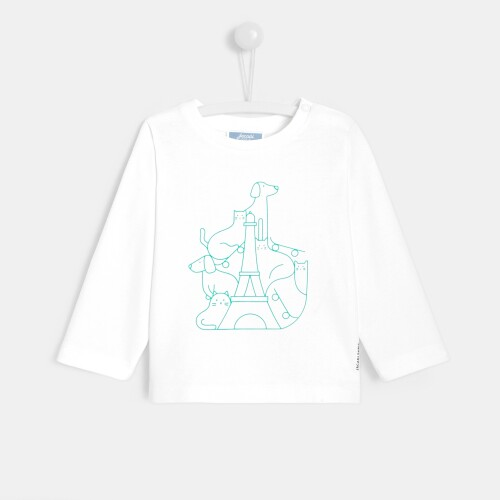 Toddler boy long-sleeved T-shirt