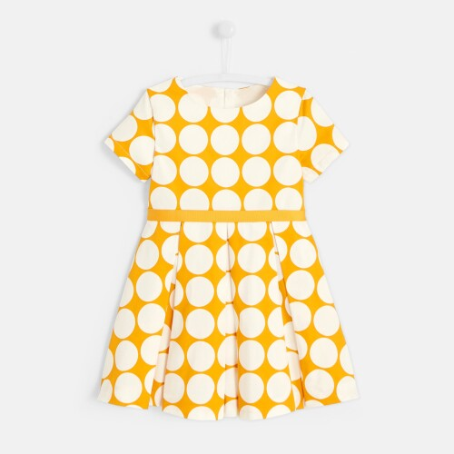 Girl polka dot dress