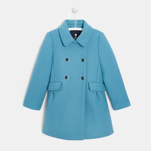 Girl wool coat