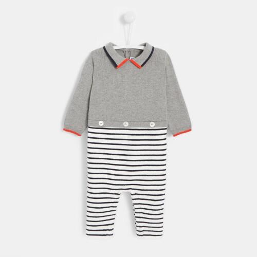 Baby boy 2-in-1 onesie