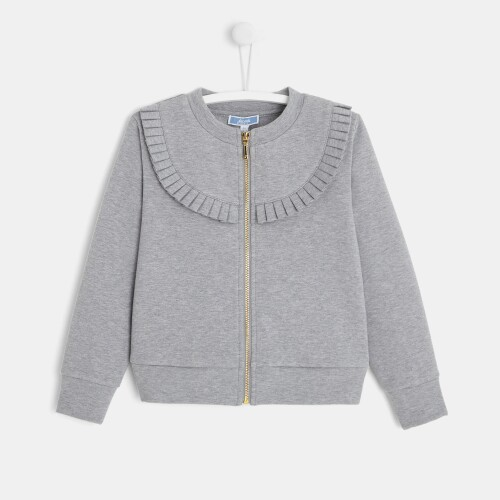 Girl fleece cardigan