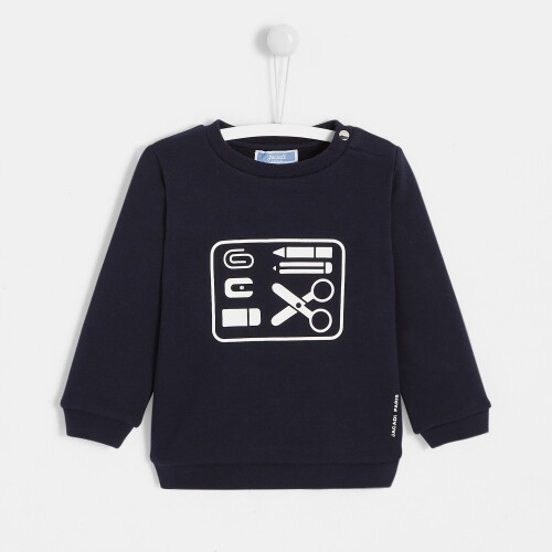 Toddler boy printed sweatshirt