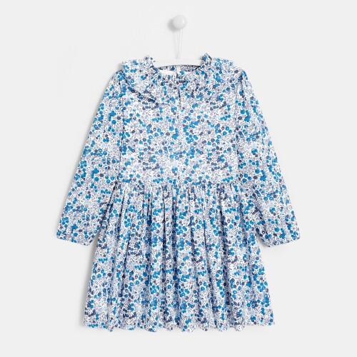 Girl Liberty print dress