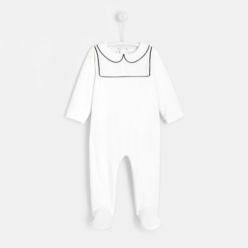 My First Jacadi footed pajamas