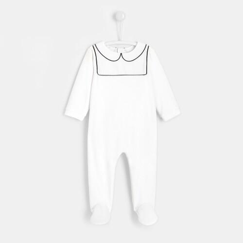 My First Jacadi footed pajamas