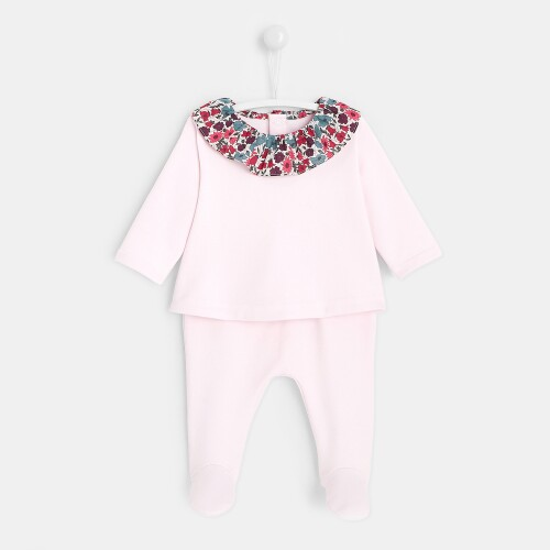 Baby girl fleece set