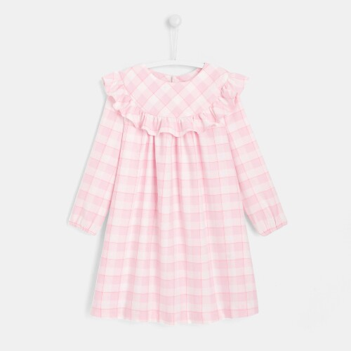 Girl gingham nightgown