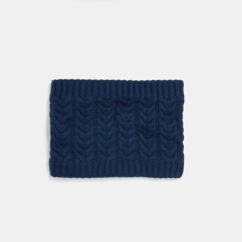 Boy cable-knit snood