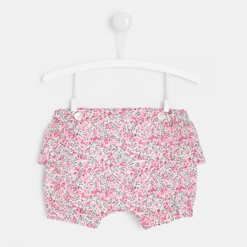 Baby girl Liberty print shorts
