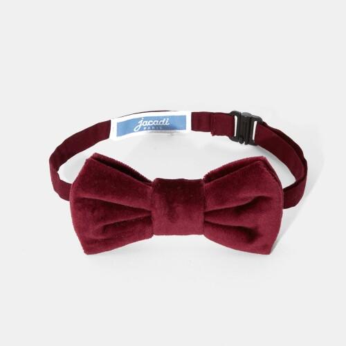 Boy velvet bow tie