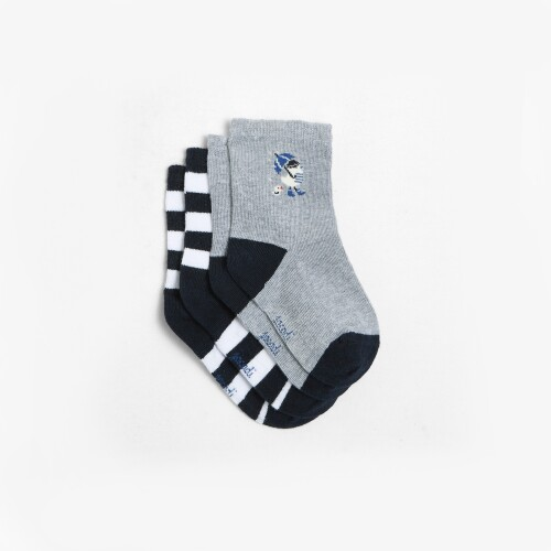 Toddler boy sock duo