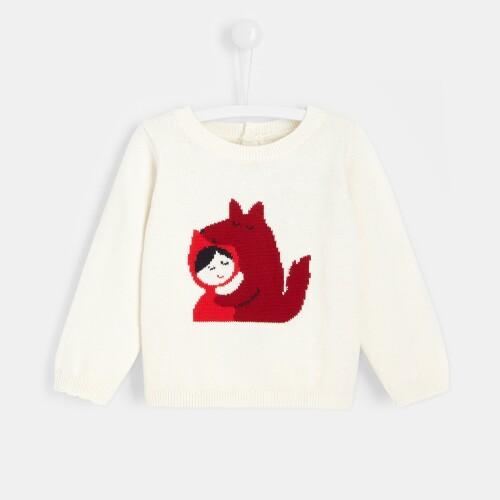 Toddler girl Little Red Riding Hood sweater