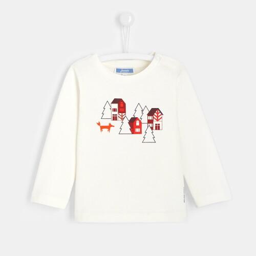 Toddler boy T-shirt with landscape print