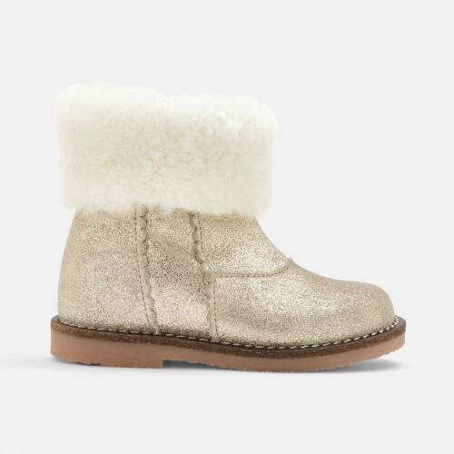 Baby girl lined boots