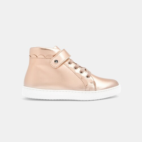 Girl high-top sneakers