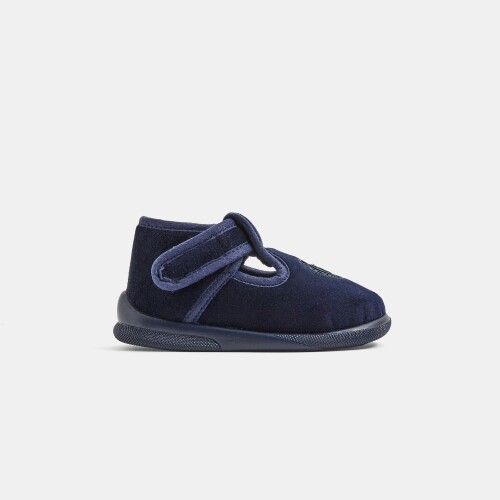 Baby boy canvas slippers