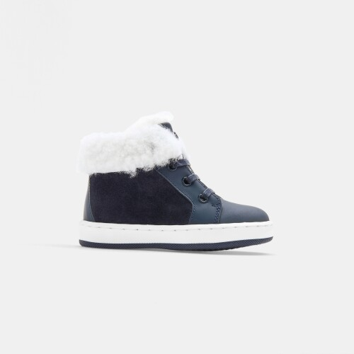Baby boy lined sneakers
