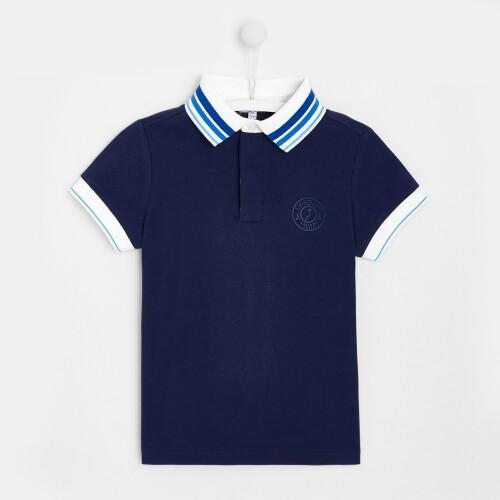 Boy solid polo shirt