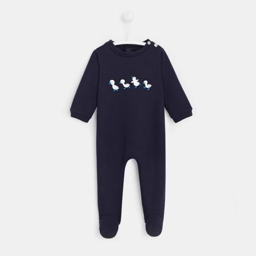 Baby boy footed pajamas