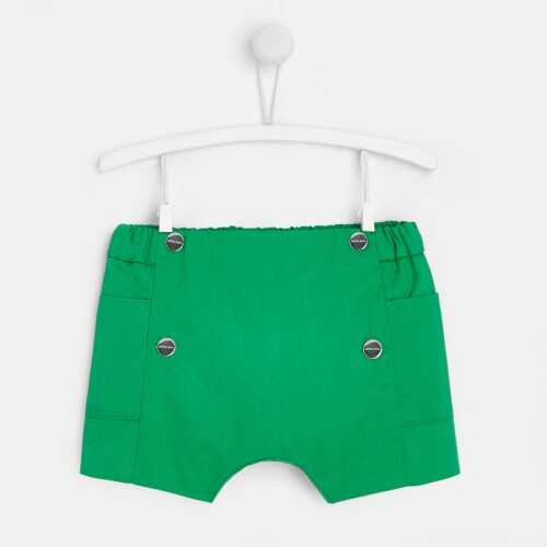 Baby boy twill shorts