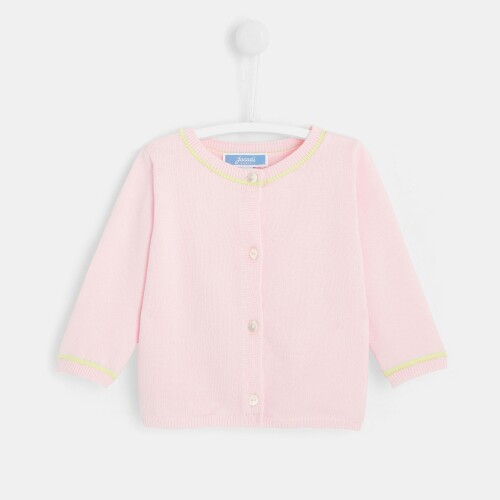 Baby girl two-toned cardigan