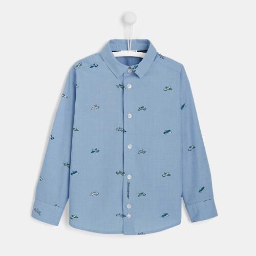 Boy Oxford button-down shirt