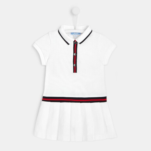 Toddler girl pleated dress