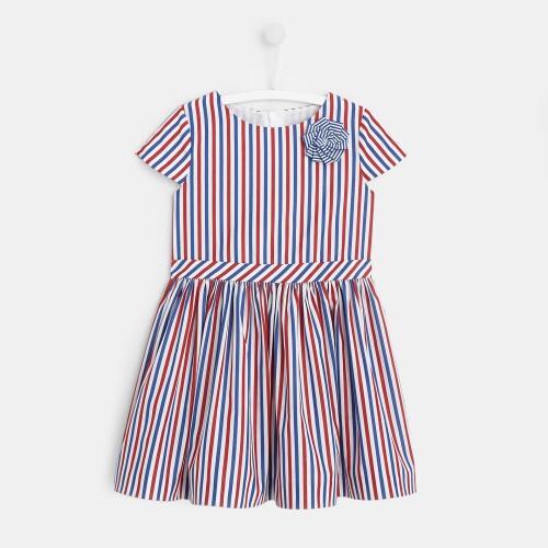 Girl striped dress