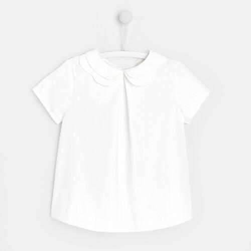 Girl poplin blouse