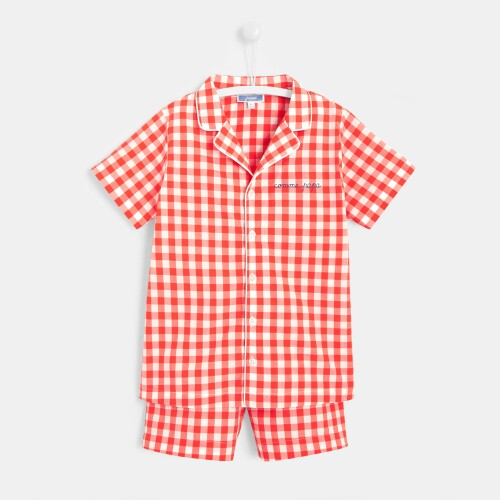 Boy short pajamas