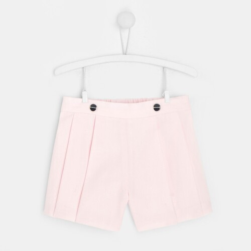Toddler girl pleated shorts