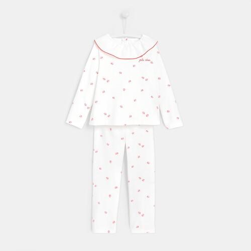 Girl flannel pajamas